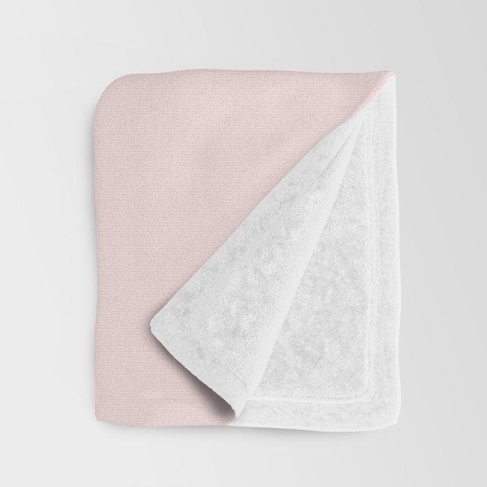 blush boobs Throw Blanket