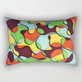 Blob Dreams Rectangular Pillow
