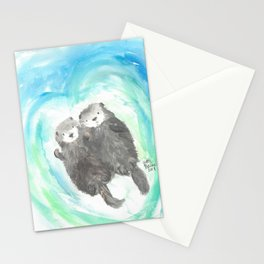 """Made for each """"otter"""" Stationery Cards"""
