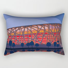 Beijing national stadium Rectangular Pillow