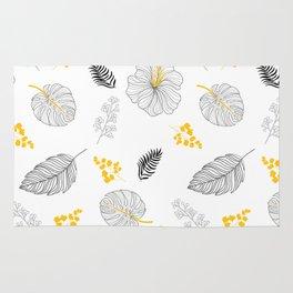 Leaves Pattern Rug