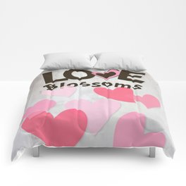 Love Blossoms Comforters