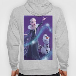 Elsa and Olaf Hoody