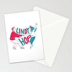 Lindy hop - Swing out Stationery Cards