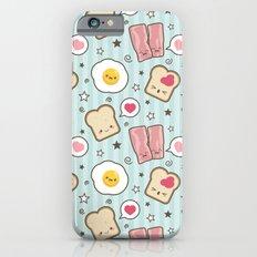 Bacon & Fried Egg Sandwich Kawaii Style Slim Case iPhone 6s
