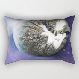 The Sleeping Cat Rectangular Pillow