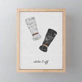 Shake It Off, Food and Drink Framed Mini Art Print