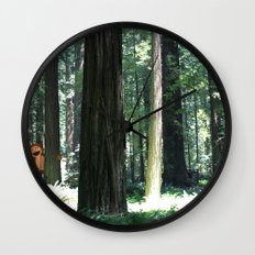 Big Foot Says Hello Wall Clock