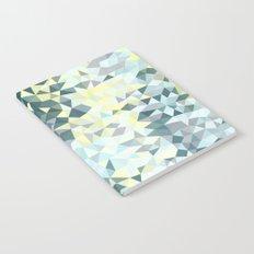 Spring Rain Tris Notebook
