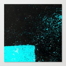 Black & Blue Canvas Print