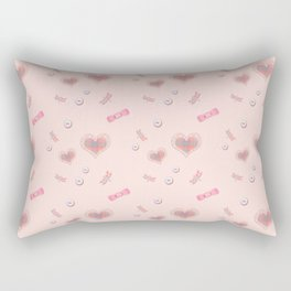Buttons and Bows 0225 Rectangular Pillow