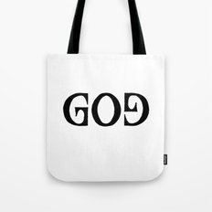 GOD - Ambigram series Tote Bag