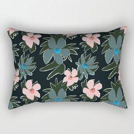 Forest Florals Rectangular Pillow