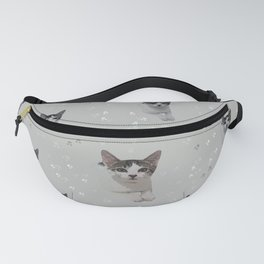 Cats Pattern.   cats, pattern, children, pet, feline, animals, Society6. Fanny Pack