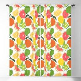 Citrus Harvest Blackout Curtain