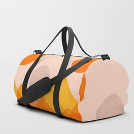Abstraction_Mountains_02 Duffle Bag