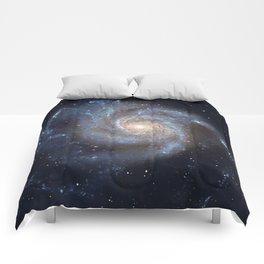 Pinwheel Galaxy Messier 101, M101 in the constellation Ursa Major Comforters