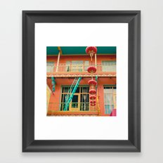 Chinatown II (San Francisco)  Framed Art Print