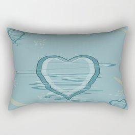 Pattern 2018 015 trembling hearts Rectangular Pillow