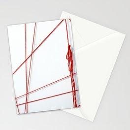 Red String Bracelet Stationery Cards