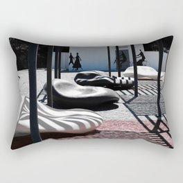 les ombres Rectangular Pillow