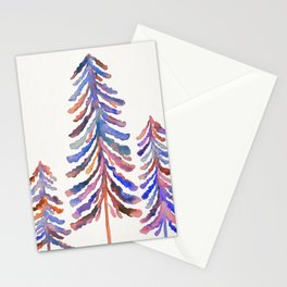 Pine Trees – 90s Color Palette Stationery Cards
