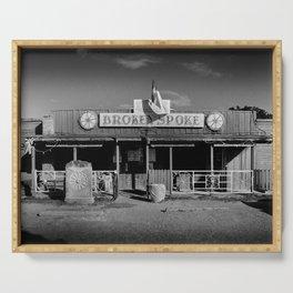 Broken Spoke Saloon Austin Texas Serving Tray