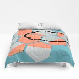 Cloud geometry Comforters