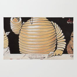 Vintage poster - Michelin Rug
