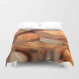 Glass Half Full Duvet Cover