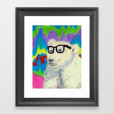 Colorful thinking Framed Art Print
