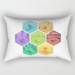 The Resource Conquest - 3D Rectangular Pillow