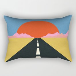 Road To Sun Rectangular Pillow