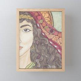 Abigail Framed Mini Art Print