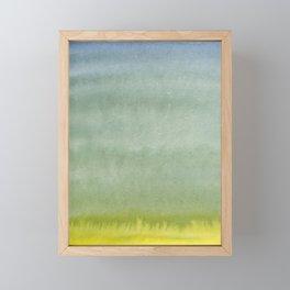 Shades of Olive Framed Mini Art Print
