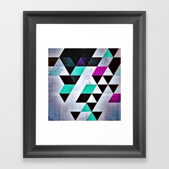 mydnyss Framed Art Print