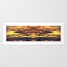 Endless Summit Art Print