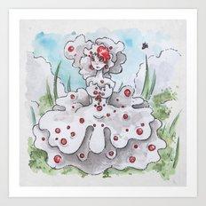 Empire of Mushrooms: Hydnellum peckii Art Print