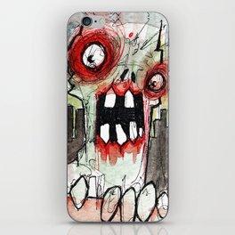 zombie surprise iPhone Skin