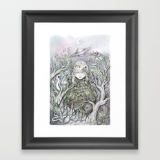 Mother Earth was a child once Framed Art Print