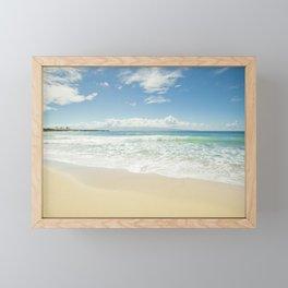 kapalua beach maui hawaii Framed Mini Art Print