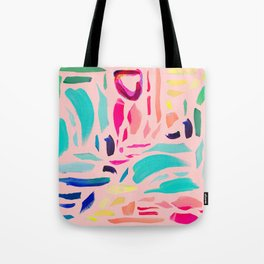 Brush Gems 1 - A deconstructed painting Tote Bag