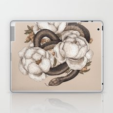 Snake and Peonies Laptop & iPad Skin