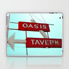 Classic tavern sign Laptop & iPad Skin