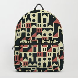 Abstract Geometric Artwork 101 Backpack