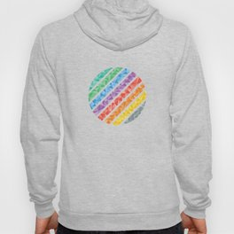 Triangles in a Circle Abstract Hoody