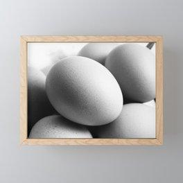 Eggs Framed Mini Art Print