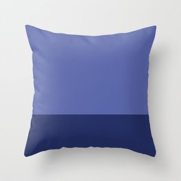 Violet Berry Color Block Throw Pillow