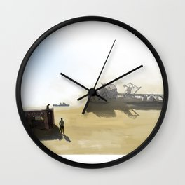 Time Gone By Wall Clock