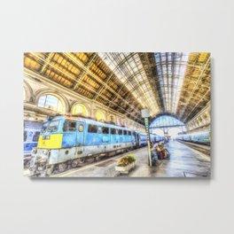 Keleti Railway Station Budapest Art Metal Print